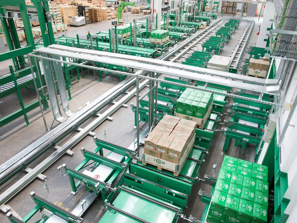 Automation in the warehouse: The case of ISB Industries