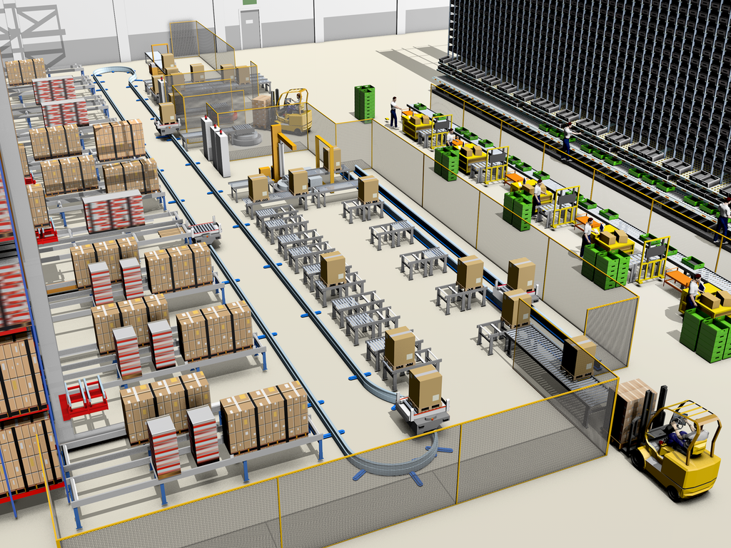 The operations happening in an automated storage systems