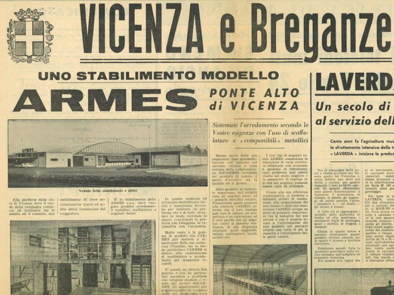 1967: Armes grows and expand