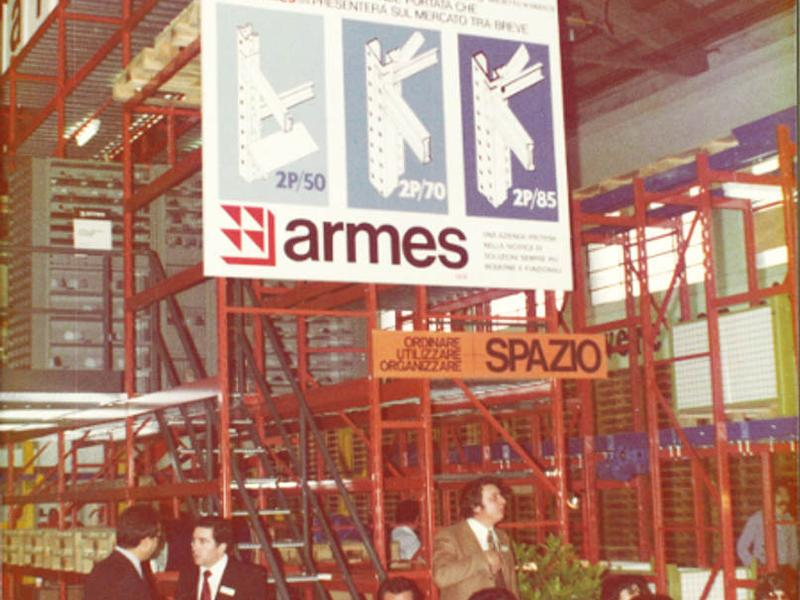 1971: New factory in Costabissara (Vicenza-Italy)