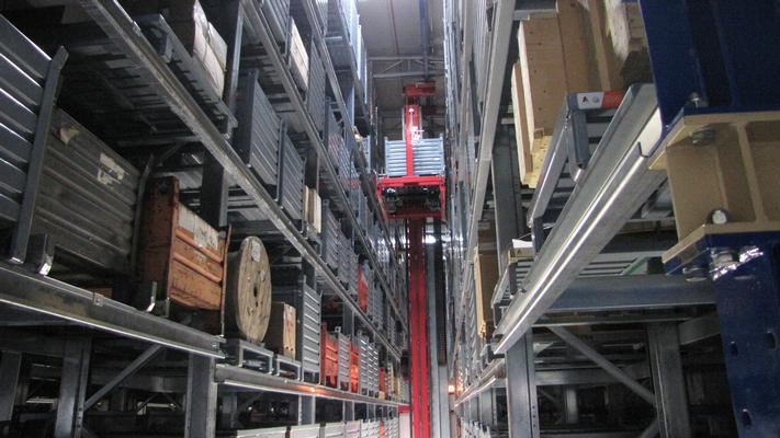 ASRS for pallets and bins