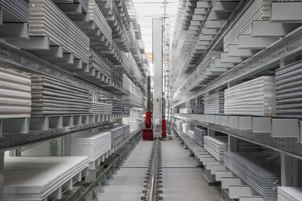 Santa Margherita - Automated storage system for plates