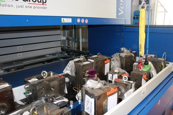 Almacenes automático verticales Vertimag EF