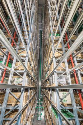Transelevadores para palet y contenedores