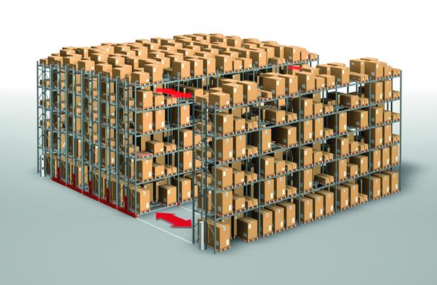 Almacenes compactables Euromag
