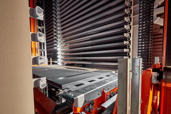 Almacenes automáticos con transelevadores
