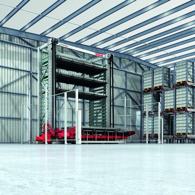 棒材管材板材垂直库 | 铁塔智能库