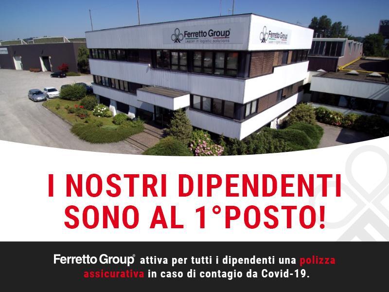 Coronavirus - Ferretto Group attiva polizza assicurativa per i dipendenti