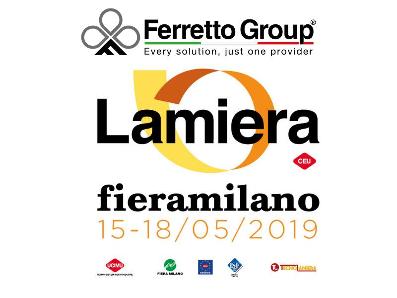 Lamiera 2019 – Ferretto Group presenta le sue soluzioni logistiche per il settore della lamiera