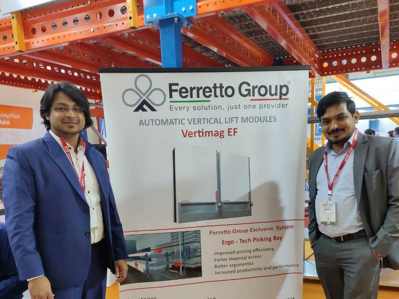 Ferretto Group and Armes Maini exhibit at Logmat Expo India