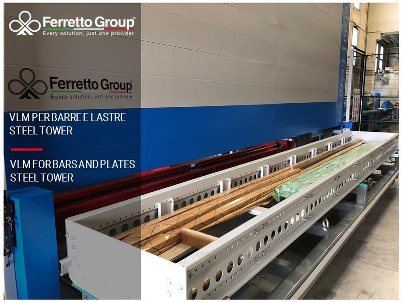 Steel Tower – La eficiencia del almacén vertical para barras y placas