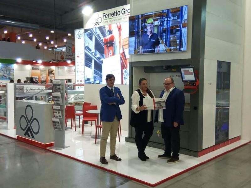 Ferretto Group exhibits at Cibus Tec 2019 - Parma Fair