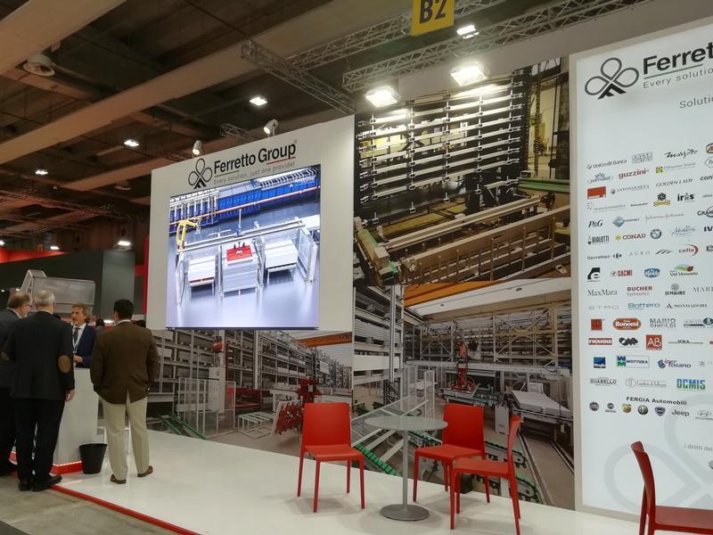 Ferretto Group exhibits at Marmomac 2019