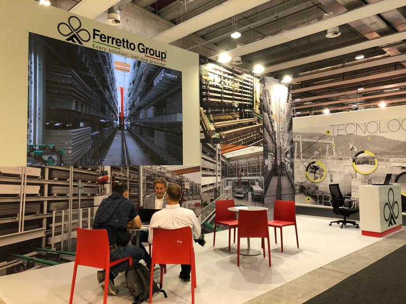 Ferretto Group exhibits at Marmomac - Verona Fair