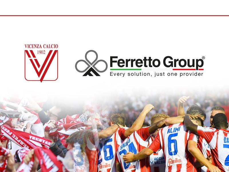 Ferretto Group supports Vicenza Calcio