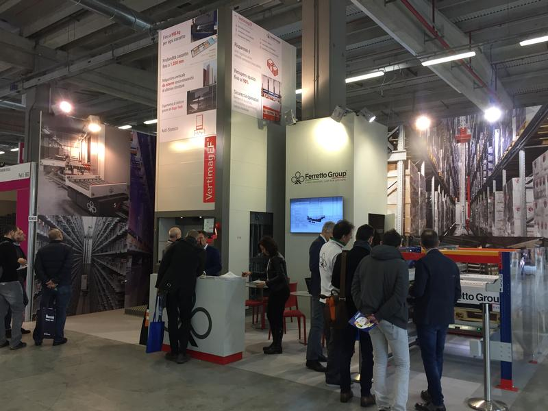 Ferretto Group exhibits at Mecspe 2018 - Parma