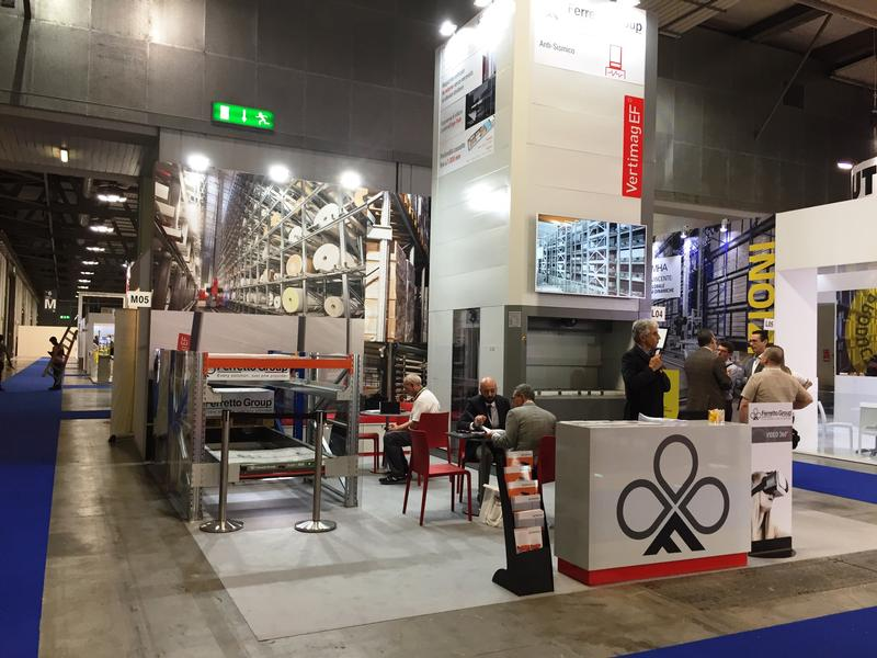 Ferretto Group exhibits at Intralogistica 2018 - Milan Rho