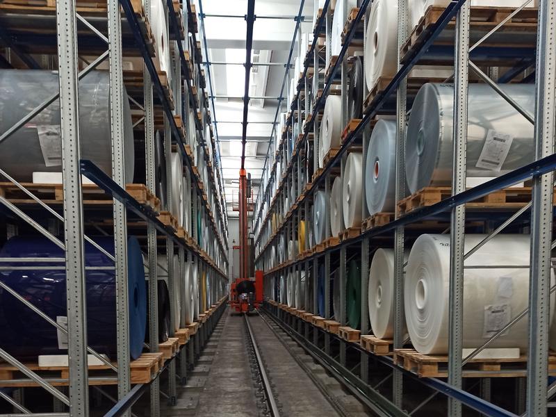 Logistica del packaging - Ferretto Group progetta l'ampliamento di 5.000 mq dei magazzini del Gruppo Happy