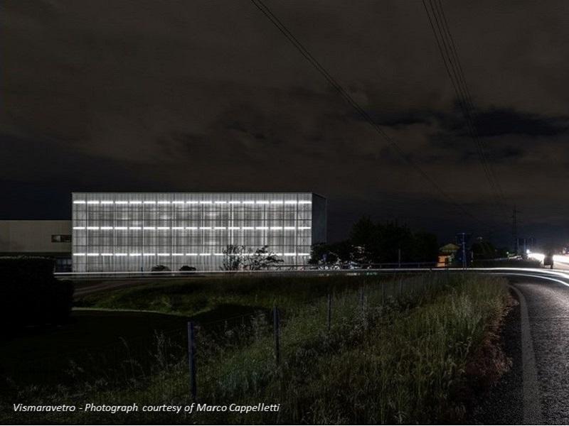 Non solo efficienza: il magazzino per Vismaravetro è candidato al Premio italiano di Architettura 2021