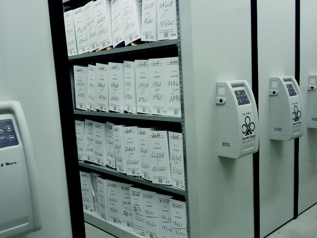 可推移式文件柜-Euromobile